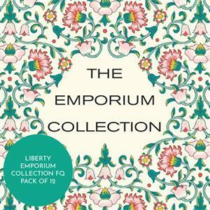 Liberty Emporium Collection Complementary FQ Pack of 12