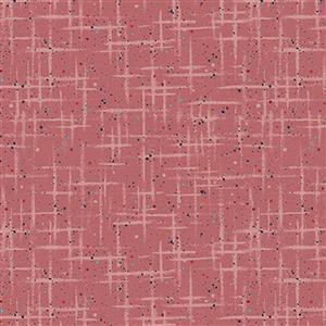 Hannah Basic Scraches On Blush Fabric 0.5m