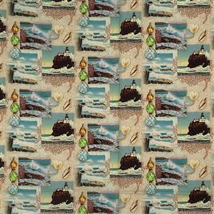Sea Scenes Fabric 0.5m