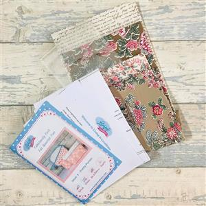 Living In Loveliness Fabulously Fast Fat Quarter Fun Issue 8 Riley Blake Option 4