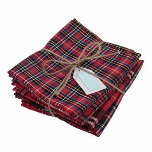 Early Bird Special - Tartan Fat Quarter Pack of 4. Save £1.50