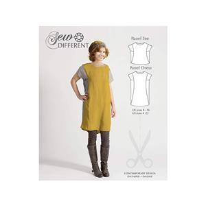 Sew Different Panel Dress Pattern - Sizes 8-26