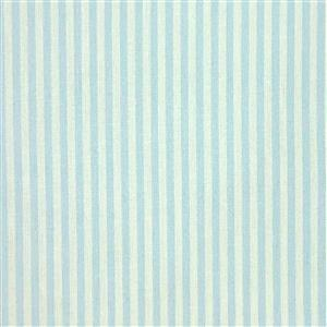 Candy Stripe Light Blue Fabric 0.5m