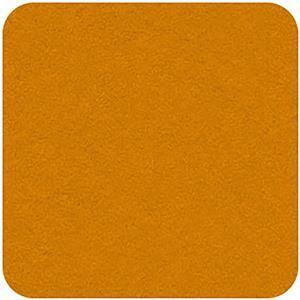 Felt Square in Mustard 22.8x22.8cm (9x9
