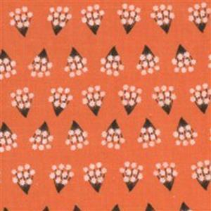 Moda Dwell In Possibility Tiny Bouquet on Poppy Fabric 0.5m