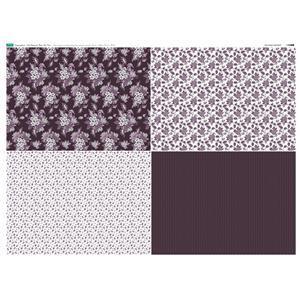 Copen Plumb 4 FQ's Fabric Panel 2: 140 x 105cm: Exclusive