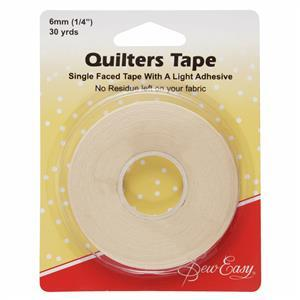 Sew Easy Quilters Tape: 27m x 6mm