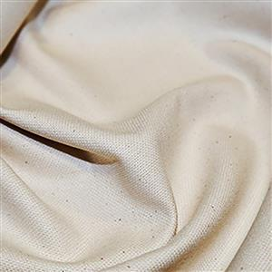 Cream Cotton Canvas Fabric 0.5m