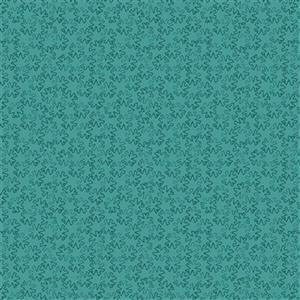 Gradiente Turquoise Jigsaw Shapes Fabric 0.5m