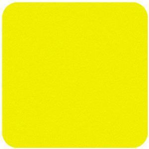 Felt Square in Super Bright Yellow 22.8x22.8cm (9x9