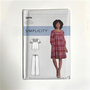 Simplicity Stretch Pull On Misses' Dress Sewing Pattern (6-14)
