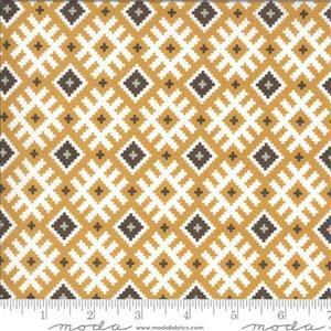 Moda Folktale Gypsy Kiss Golden Fabric 0.5m