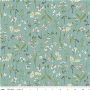 Riley Blake Tea With Bea Lake Autumn Garden Fabric 0.5m