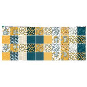 Copen Summer Fabric Squares Panel 140 x 57cm Exclusive