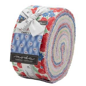Moda 30's Playtime Design Roll Pack Of 40 Pieces