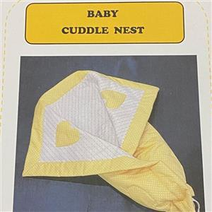 Allison Maryon's Baby Cuddle Nest Instructions