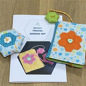 Allison Maryon's Blue Buttons Travel Sewing Kit