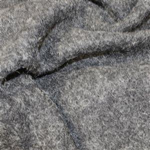 Silver Boiled Wool Fabric Bundle (3m)