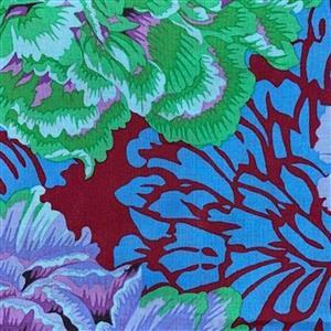 Kaffe Fassett Collective Brocade Peony in Cool Fabric 0.5m