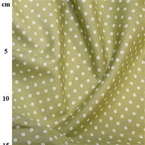 Rose and Hubble Cotton Poplin Spots on Meadow Fabric 0.5m