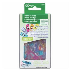 Early Bird Special - 50 Multi Coloured Clover Wonder Clips. Save £9