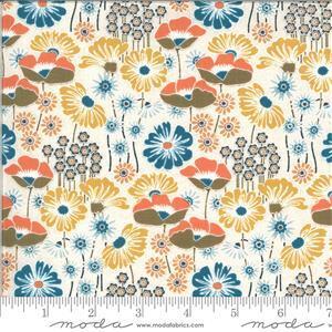 Moda Cider White Floral Multi Fabric 0.5m