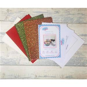 Living in Loveliness - Fabulously Fast Fat Quarter Fun Christmas. Issue 4 Option 2