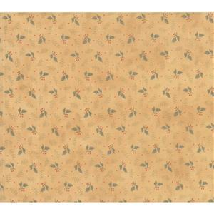 Moda Daybreak Falling Leaves Glow on Gold Fabric 0.5m