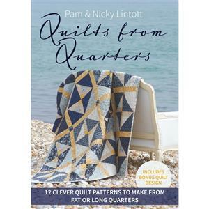 Quilts From Quarters Book by Pam & Nicky Lintott