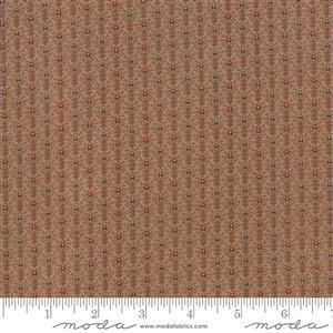 Moda Lancaster by in Tan Striped Fabric 0.5m