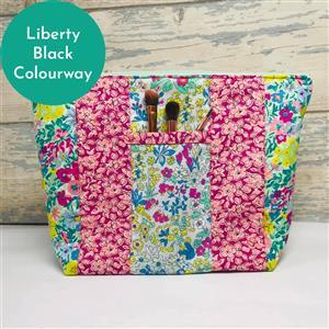 Living in Loveliness Yasmeen Cosmetic Bag - Liberty Black