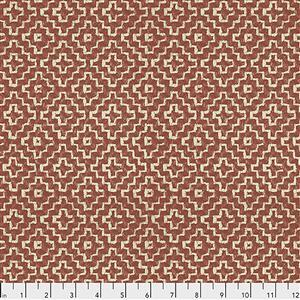 Sanderson Linden in Spice Fabric from Cashmere Range 0.5m