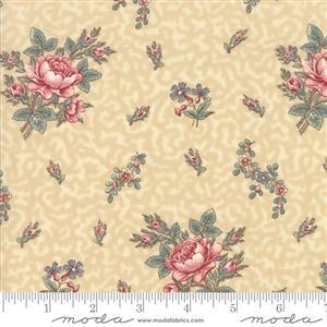 Regency Romance by Christopher Wilson Tate for Moda in Floral Cream 0.5m