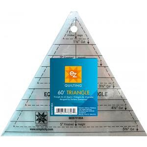 EZ Quilting 60 Degree Triangle Acrylic Template
