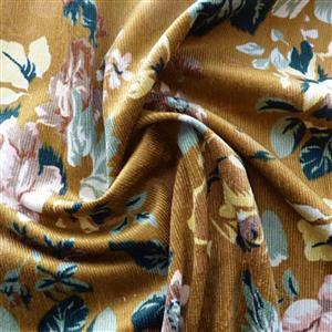 Chatsworth House Old Gold Fabric 0.5m