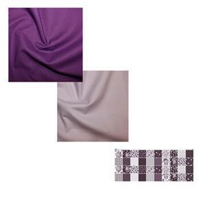Copen Plumb Cheerful Carrier Bundle: Fabric Panel & Fabric (2.5m)
