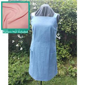 Pink Linen Portsmouth Pinafore Fabric Bundle (2.5m)