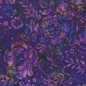 Wine Night in Purple Rose Fabric 0.5m