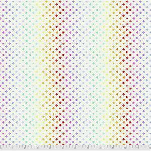 Tula Pink Curiouser And Curiouser in Suited and Booted Wonder Fabric 0.5m