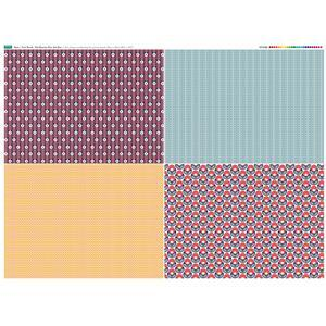 Fruit Punch Fat Quarter Fabric Panel Set 1 - 140 x 108cm