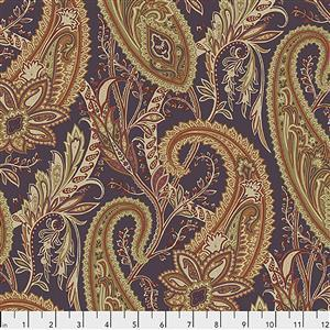 Sanderson Cashmere Paisley in Spice Fabric from Cashmere Range 0.5m