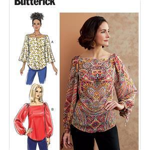 Butterick Misses' Top Pattern (sizes 6-14)