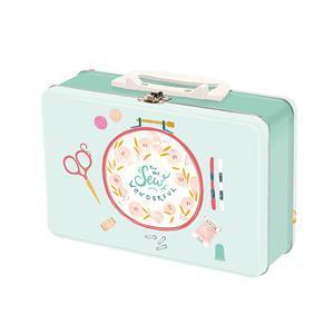 Moda Sew Wonderful Embroidery Hoop Snack Box 20 x 15 x 7cm