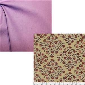 Sanderson Ottoman Flowers in Spice Fabric Bundle (1m)