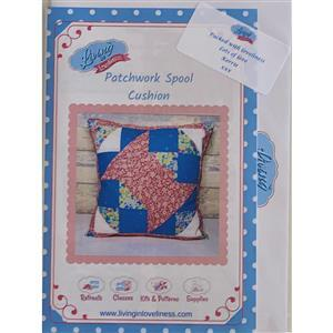 Living in Loveliness Patchwork Spool Pattern