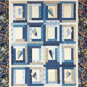 Village Fabrics Random Hearts Kit