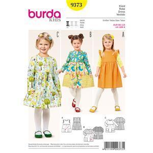 Burda Style Children's Dress Pattern - Age 6m-8y
