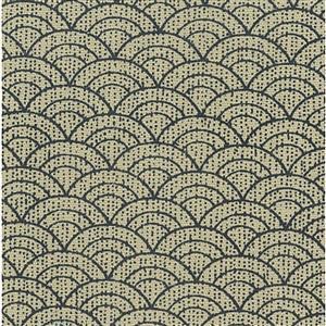 Yano in Slate Grey Rainbow Fabric 0.5m