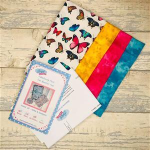 Living in Loveliness Fabulously Fast Fat Quarter Fun Issue 10 - Gifts and Gadgets Butterfly
