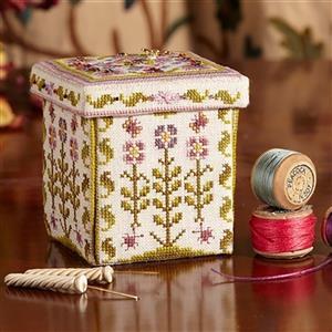Cross Stitch Guild The Fleur Etui Kit